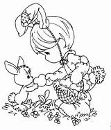 Easter Coloring Pages Disney Princess Printable Title Bunny sketch template