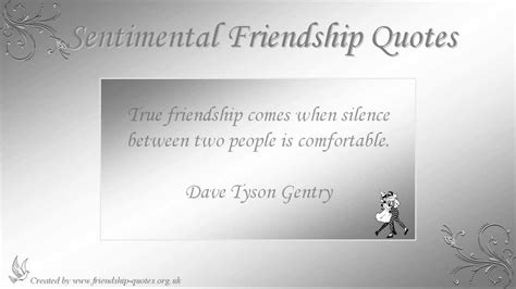 sentimental friendship quotes youtube