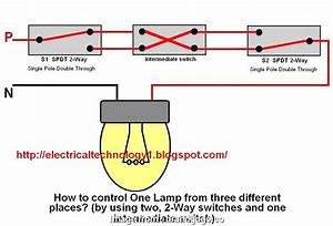 How To Wire A Light Switch  An Outlet Together Brilliant