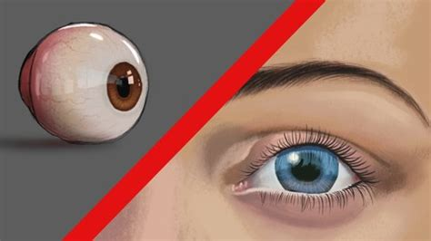 digitally painting  drawing eyes udemy
