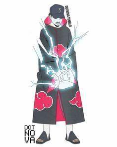 Itachi Uchiha from Naruto Naruto Shippuden as Vaporwave