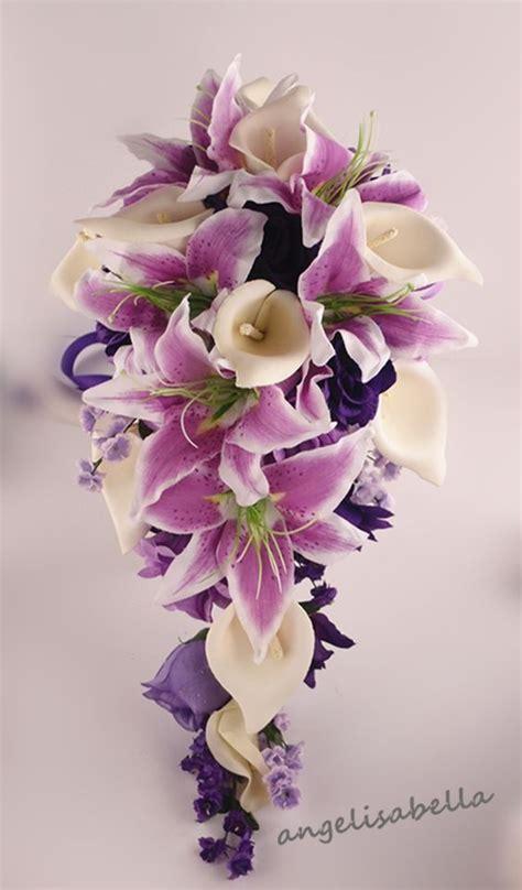 purplecallaliliesweddingflowers shades  purple