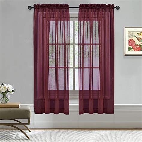 bedroom window curtains amazoncom