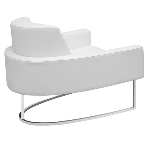 modern chairs chichi white lounge chair eurway