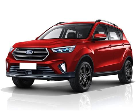 Ford Ecosport To Ride On Mahindra Power