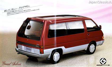 nissan vanette 1987 largo c22 japanclassic