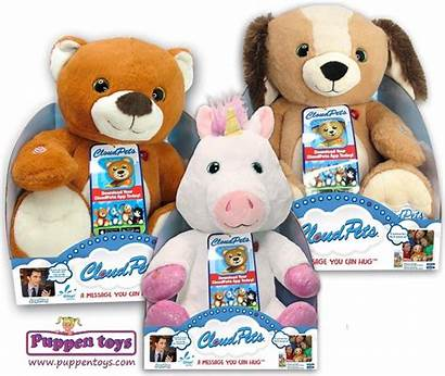 Interactive Pets Plush Cloud Toys Puppen Display
