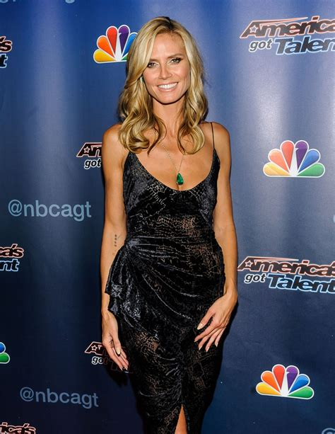 Heidi Klum America Got Talent Season Finale Red