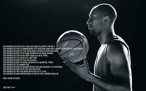 Nike Honors And Challenges Kobe Bryant In Inspirational