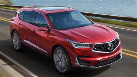 2019 Acura Rdx Here Are The First Photos  The Torque Report