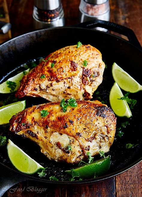 chicken breast pan recipe oven baked seared roasted skin fried cooking food meat flavor similar profile very