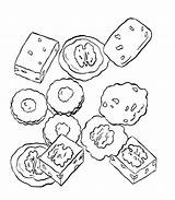 Coloring Pages Dice Cookie Adult Cookies Various Printable Colouring Birthday Sugar Getcolorings Coloringkidz sketch template
