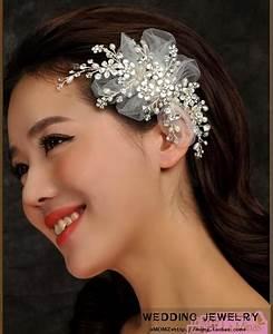 2018 Original Short Hair Bridal Headdress Flower Head