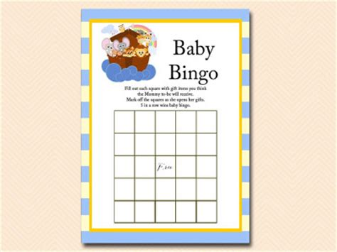 noahs ark baby shower games magical printable
