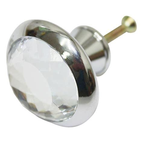 glass cabinet door knobs chrome glass 39 mm kitchen cabinet knob furniture dresser