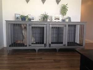 Bb kustom kennels for Indoor double dog kennel