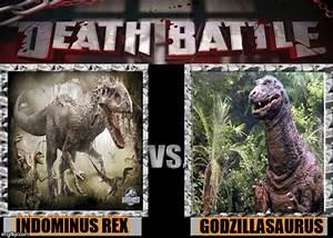 Death Battle Meme #5: I-Rex vs. Godzillasaurus by ...