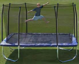 14 Foot Square Trampoline