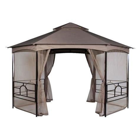 pacific casual pompeii 13 ft x 12 ft hex shaped roof