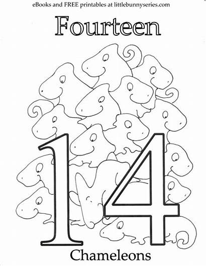 Coloring Number Pages Pdf Printable Getcolorings