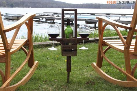 outdoor wine caddy buildsomethingcom