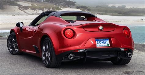 New Alfa Romeo Spider by New Alfa Romeo 4c Spider Priced From 63 900 In The U S