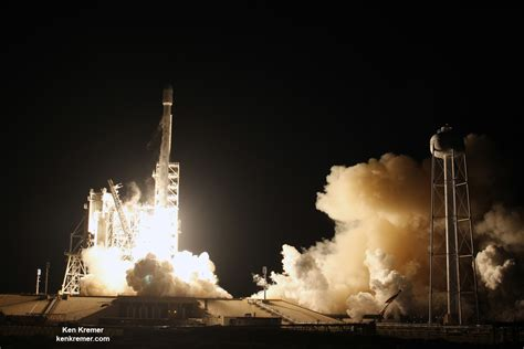 Flawless SpaceX Falcon 9 Takes Rousing Night Flight ...