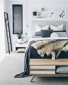 Teppich Skandinavisches Design : 1001 ideen f r skandinavische schlafzimmer einrichtung und gestaltung ~ Whattoseeinmadrid.com Haus und Dekorationen