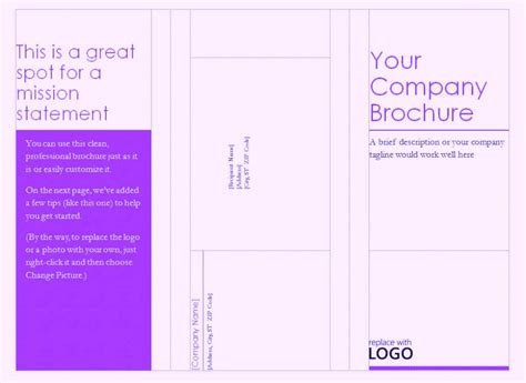 handout templates free phlet template word brochure templates