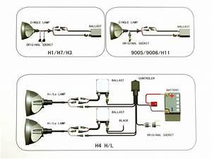 Nissan Navara Hid Headlight Conversion Kit H4 55w Hi  Low
