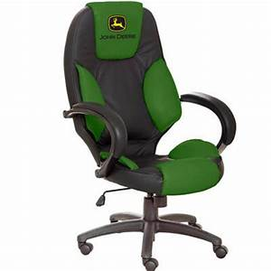 John Deere Leather Desk Chair Furniture For The Home