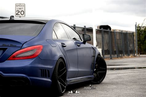 mercedes tuning mercedes cls wald black bison buffalo tuning hd wallpaper