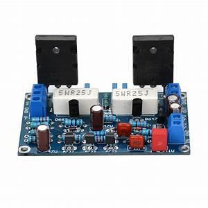 Achievement  Amplifier 2sc5200 2sa1943 2x250w Circuit