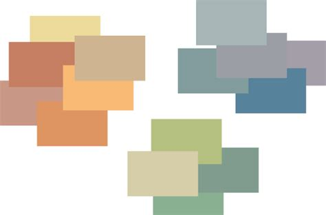 Arts and Crafts muted color palette  Colors Pinterest