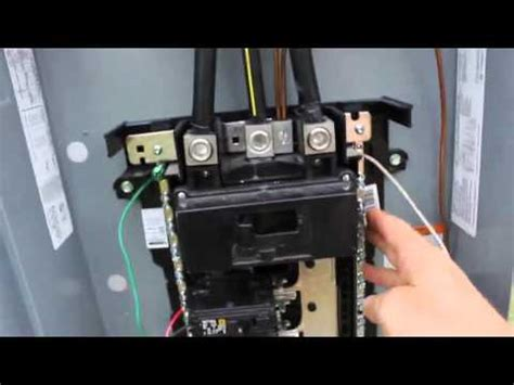 Diy Electrical Service Installation With Amp Main