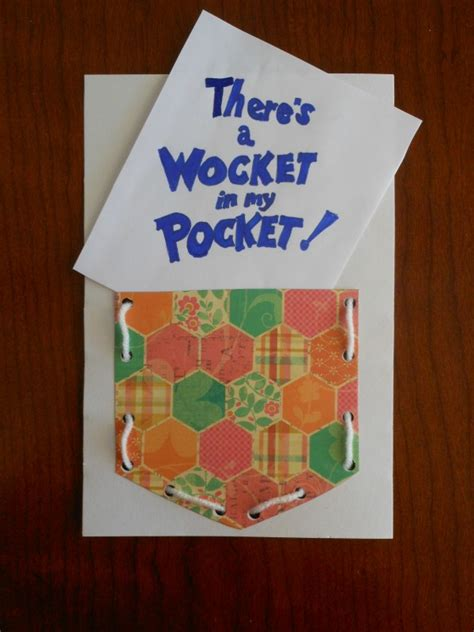 dr seuss activity quot there s a wocket in my pocket 123 | Dr. Seuss activity love this one