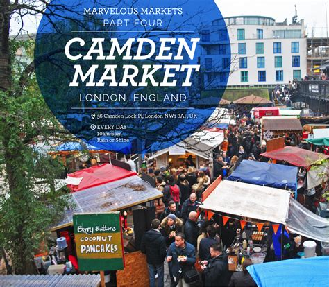Marvelous Markets, pt. 4: Camden Market - London