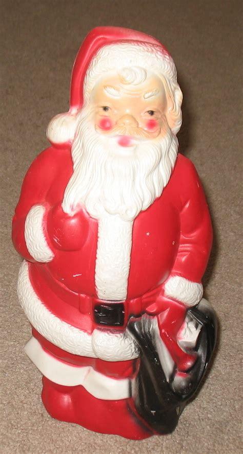 vintage 1968 empire plastics lighted santa claus santa