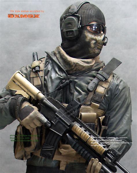 Call Of Duty Modern Warfare 2 Ghost Life Size Statue