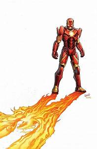 Iron Man's Godkiller armor by Greg Land | Things I love ...