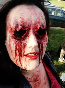 Scary Halloween Make Up Idea