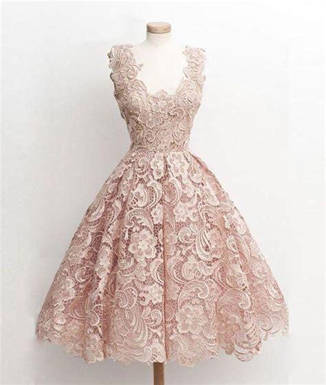 light pink lace dress cute light pink lace short prom dress lace bridesmaid