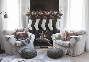 How, To, Decorate, A, Mantel, With, A, Tv, Above, It, For, Christmas