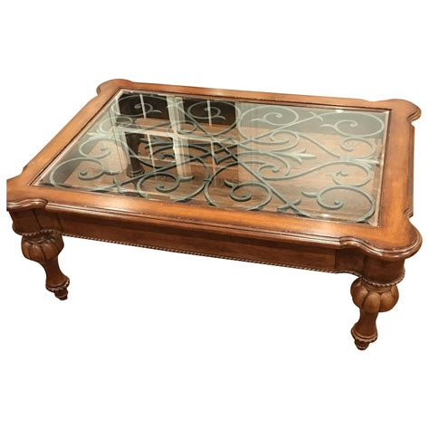 Ethan Allen Tuscan Coffee Table Chairish