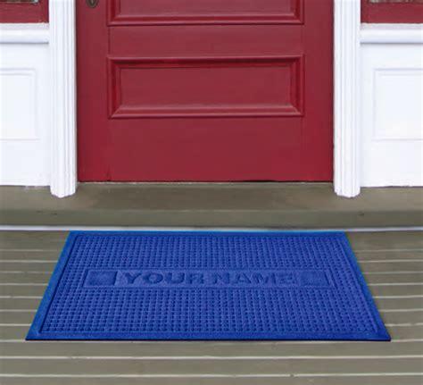 custom waterhog floor mats personalized waterhog floor mats are personalized door