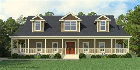 Greenbrier Cape Cod Style Modular Home