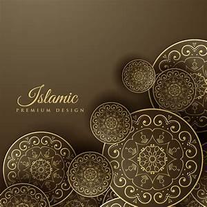 Islamic, Background, With, Mandala, Decoration