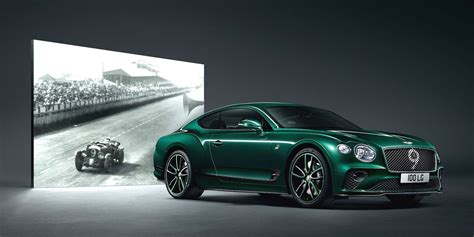 bentley continental gt number  edition celebrates