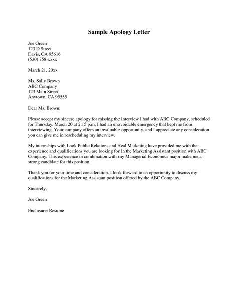 write  apology letter   teacher sampleletter