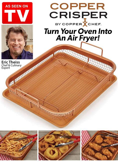 copper crisper copper chef copper crisper recipe copper cooking pan